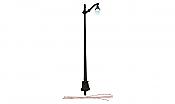 Woodland Scenics 5631 HO Arch Cast Iron Street Light - Just Plug(TM) - Package of 3 units