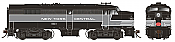 Rapido 21542 HO MLW FA-2, New York Central – Lightning Stripe #1053 DCC & Sound