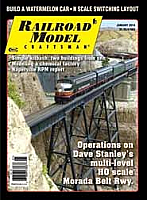 Railroad Model Craftsman Magazine January 2014
