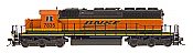 Intermountain Railway 49350S-03 HO EMD SD40-2 w/DCC  & Sound ESU  -Burlington Northern Santa Fe  BNSF #7888