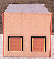 Herpa Models HO 6320 Two-Bay Modern Warehouse (Plastic Kit) - Sand