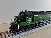 Athearn G63693 HO SDP45 w/DCC & Sound, Burlington Northern #9861