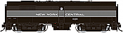 Rapido 22542 HO - DC/DCC/Sound - Alco FB-2 New York Central (Lightening Stripe) #3366 - Pre-order