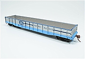 Rapido Trains 50045-A HO - 52 Ft 6 In Mill Gondola (Single Car) - Union Carbide 100