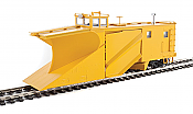 WalthersProto 110028 HO - Russell Snowplow - Ready to Run - Painted, Unlettered (yellow)