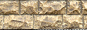Chooch Enterprises Flexible Cut Stone Wall w/Self-Adhesive Backing Large Cut Stones