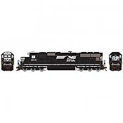 Athearn 70610 HO SD70 DCC & Sound Norfolk Southern/Horse head #2548
