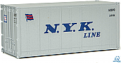 Walthers SceneMaster 8655 HO - 20ft Smooth-Side Container - NYK Line #A0890