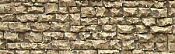 Chooch Enterprises Flexible Random Stone Wall w/Self-Adhesive Backing Small Stones