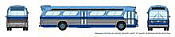 Rapido 573005 N - 1/160 New Look Bus - New York (Blue)