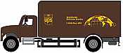 Walthers HO 11293 SceneMaster International(R) 4900 Single-Axle Box Van - Assembled - UPS Bow Tie Scheme