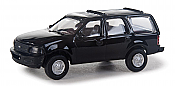 Walthers SceneMaster 12042 HO - Ford Expedition Special Service Vehicle - Unmarked Unit (black)