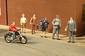 Bachmann HO Scale Figures City People 6-pack