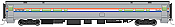 WalthersMainline 31050 HO Scale - RTR 85 ft Horizon Food Service Car - Amtrak (Phase III)