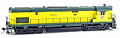 Bowser 24734 - HO ALCo Century C-628 - ESU LoksSound - Zito Yellow Cab - Chicago and North Western #6728