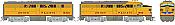 Rapido 37044 - HO Alco FA-1 & FB-1 Set - DCC Ready - Union Pacific #1624A, 1636B