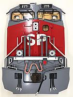 Stoddarts Ltd. 175 - 3D Railroad Wall Artwork - Southern Pacific AC4400 #175