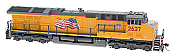 "InterMountain 497104S-08 HO Scale GE ET44AC ""Tier 4 GEVO"" EF-64t DCC & Sound Union Pacific #2656"