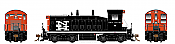 Rapido 27542 HO EMD SW1200 -DC/DCC/Sound - New Haven #654 - Pre-order