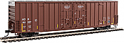 Walthers Mainline 2902 HO - 60ft High Cube Plate F Boxcar - Arkansas-Oklahoma #112312