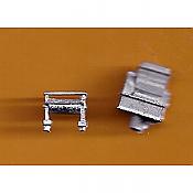 Juneco Scale Models C-78 - Cash Register and Paper Roll