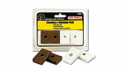 Woodland Scenics 4553 Tidy Track Maintenance Cleaning & Finishing Pads Replacement