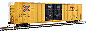 Walthers 2950 Mainline HO 60ft High Cube Plate F Boxcar - TTX TBOX #661318