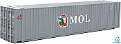 Walthers 8572 HO SceneMaster - 45 Ft CIMC Container - Assembled - MOL