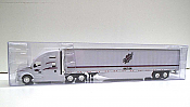 Trucks n Stuff TNS143 - HO Kenworth T680 Sleeper-Cab Tractor - 53ft Dry Van Trailer - Heartland Express
