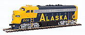 Walthers Mainline 19928 HO Scale - EMD F7A - ESU Sound and DCC - Alaska Railroad #1532