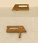 Cal Scale - 547 HO Diesel Radio Sinclair Antenna - Unpainted Brass Casting (2pcs)