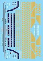 Microscale 87256 HO Scale - Alaska Railroad Diesel - incl Bicentennial (1960-1980) - Waterslide Decal
