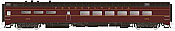Rapido Trains 124051 HO Scale Pullman-Standard Lightweight Diner Pennsylvania #4472 Pre Order