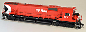 Bowser 24272 HO Executive Line Alco MLW M636 DCC Ready Canadian Pacific CP Rail 4711 - CP Rail 5 Inch Stripe Air Start
