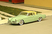 Sylvan Scale Models 302 HO Scale - 1953 Studebaker Two Door Coupe - Unpainted and Resin Cast Kit