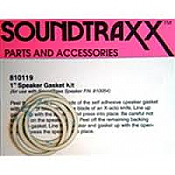 "SoundTraxx 810119 1"" Speaker Gasket Kit (4 pack)"