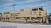 Athearn Genesis2 G75804 - HO SD70ACu - DCC/Sound - Canadian Pacific Railway (Army Heritage Unit) #7021