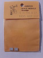 Juneco Scale Models C-31 - CN & CP Diesel Drop Step (2pcs)