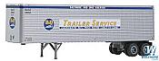 Trainworx 8023001 HO Scale 40 Ft Corrugated Trailer Van Baltimore & Ohio #200394