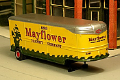 Sylvan Scale Models 007-3 HO Scale - 1941-46 32Ft Fruehauf Aerovan w/ Mayflower Decals - Unpainted and Resin Cast Kit