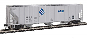Walthers Proto 106146 - HO 55Ft Evans 4780 Covered Hopper - ADM (UELX) #10001