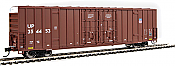 Walthers 2956 HO 60ft High Cube Plate F Boxcar Union Pacific UP #354871