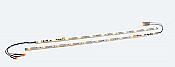 ESU LLC 50708 - HO, N, TT - LED Lighting Strip w/DCC Decoder and Red Marker Lights - Warm White