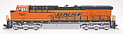 Intermountain Railway Diesel GE Evolution Series ES44DC BNSF - #7621 New Image DCC & Sound
