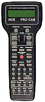 NCE 11 Deluxe Master ProCab-R - with Backlit LCD & 916 MHz Radio Installed