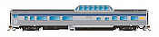 Rapido Trains 550111 - N Skyline Mid-Train Dome Coffee Shop - VIA Rail Canada, Original