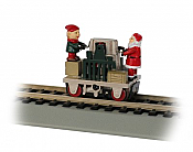 Bachmann HO 46224 Operating Hand Car Gandy Dancer Christmas Car