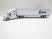 Trucks n Stuff TNS029 - HO Kenworth T680 Sleeper-Cab Tractor - 53ft Dry Van Trailer - Celadon