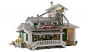Woodland Scenics HO 5059 Built & Ready Landmark Structures(R) - Assembled - H&H Feed Mill