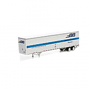 Athearn 28057 HO - RTR 48Ft Wedge Trailer - Boston Buffalo #45-66